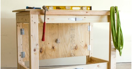 Folding Mobile Workbench - Video Tutorial