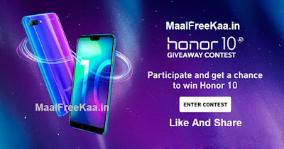 Honor 10 Giveaway