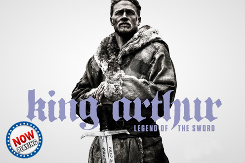 Film KING ARTHUR: LEGEND OF SWORD Bioskop