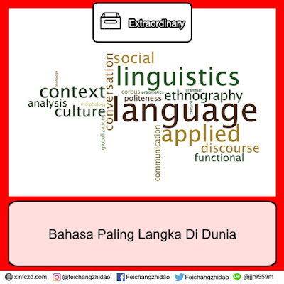 Bahasa Paling Langka Di Dunia