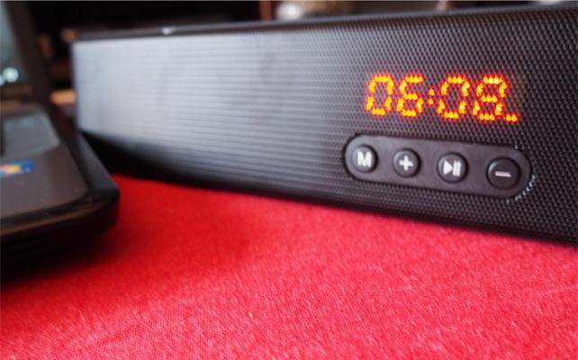 BlitzWolf BW-SDB0: potencia de sonido 10W + radio FM integrada
