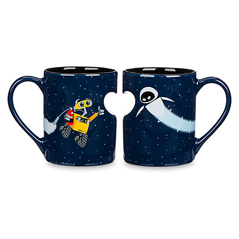 Sasaki Time Giveaway Wall E And Eve Valentine S Day Mugs