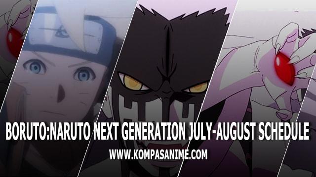 Jadwal Rilis Anime Boruto Naruto Next Generation Bulan Juli Agustus 2018 Terbaru