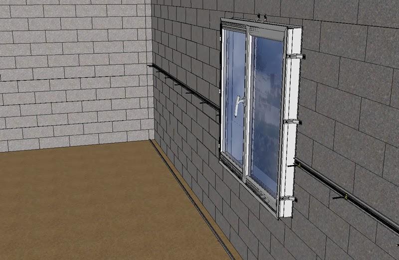 comment doubler et isoler des murs p riph riques. Black Bedroom Furniture Sets. Home Design Ideas