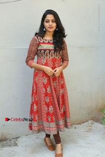 Telugu Actress Nikhila Vimal Latest Stills in Anarkali Dress  0187.JPG