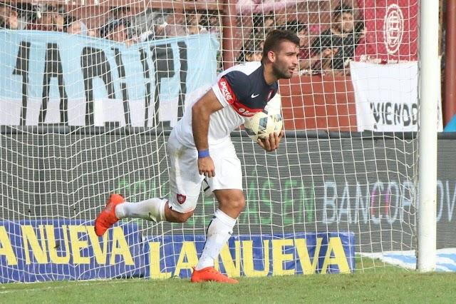 Cauteruccio marca no fim e San Lorenzo conquista o empate contra o Lanús
