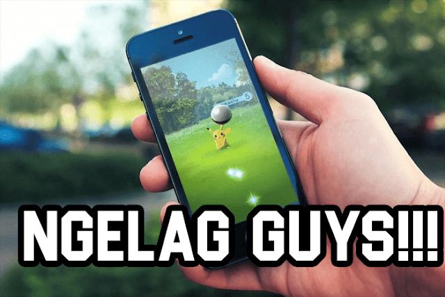 Mengatasi Pokemon Go ngelag di Android Ram 1 Giga
