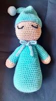 muñeco amigurumi para bebes