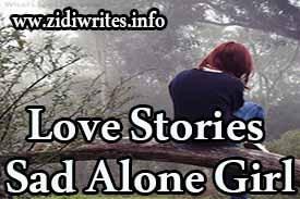Love Stories Sad Alone Girl