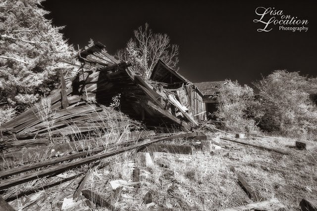 Chicken Ranch ruins infrared