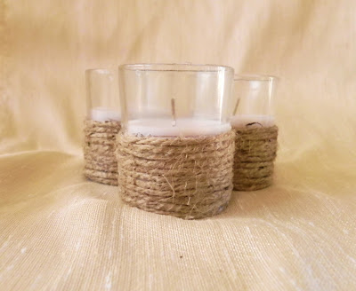 Jute Candle Rustic Wedding Table Decoration Ideas & Rustic Vermont Wedding Table Decoration Ideas | Wedding Decoration Ideas