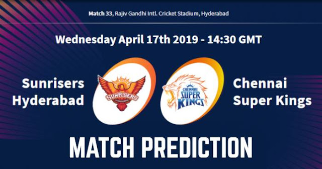 VIVO IPL 2019 Match 33 SRH vs CSK Match Prediction, Probable Playing XI: Who Will Win?