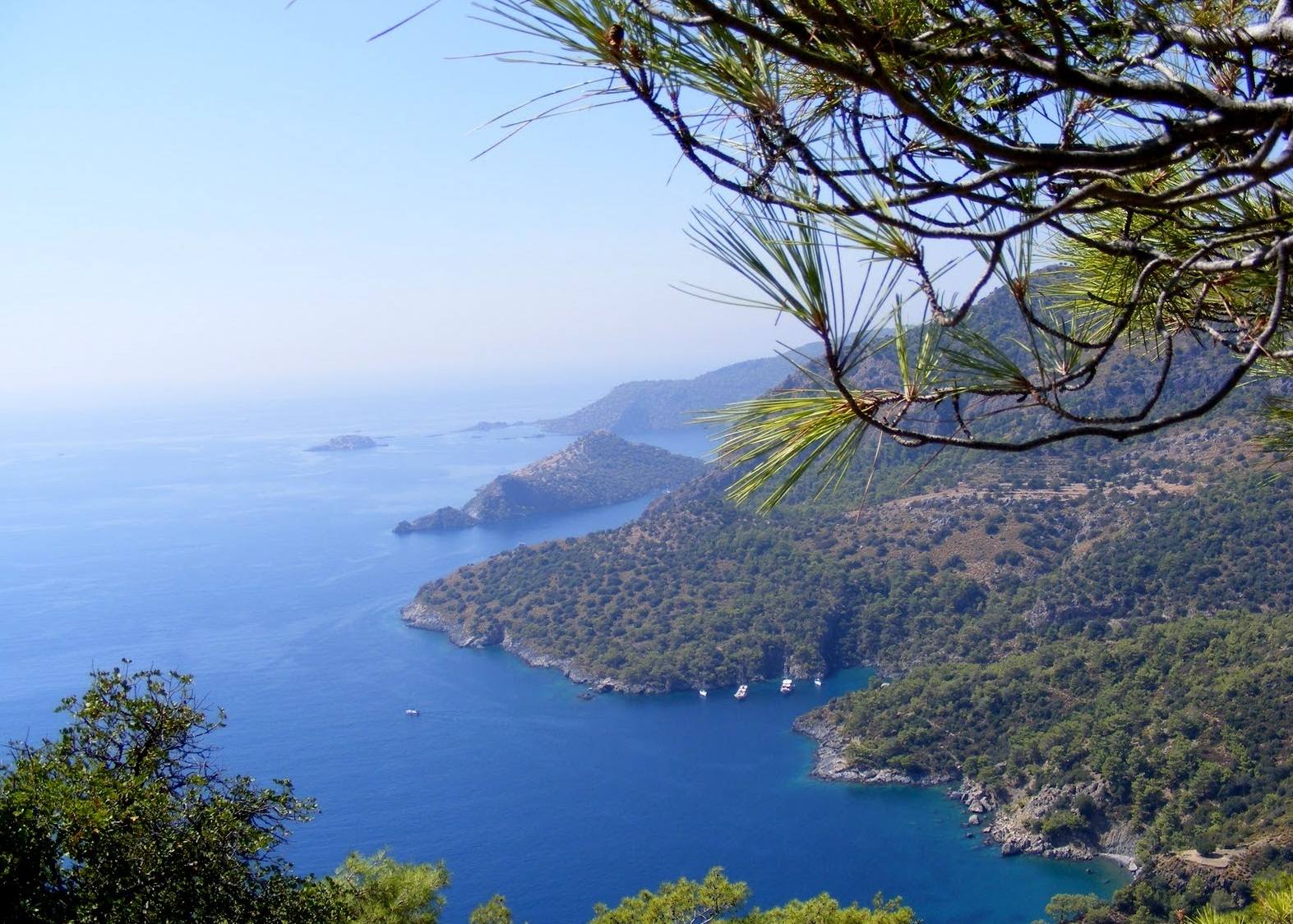 Oludeniz - A Beautiful Island Bay in Turkey - Dreams ...