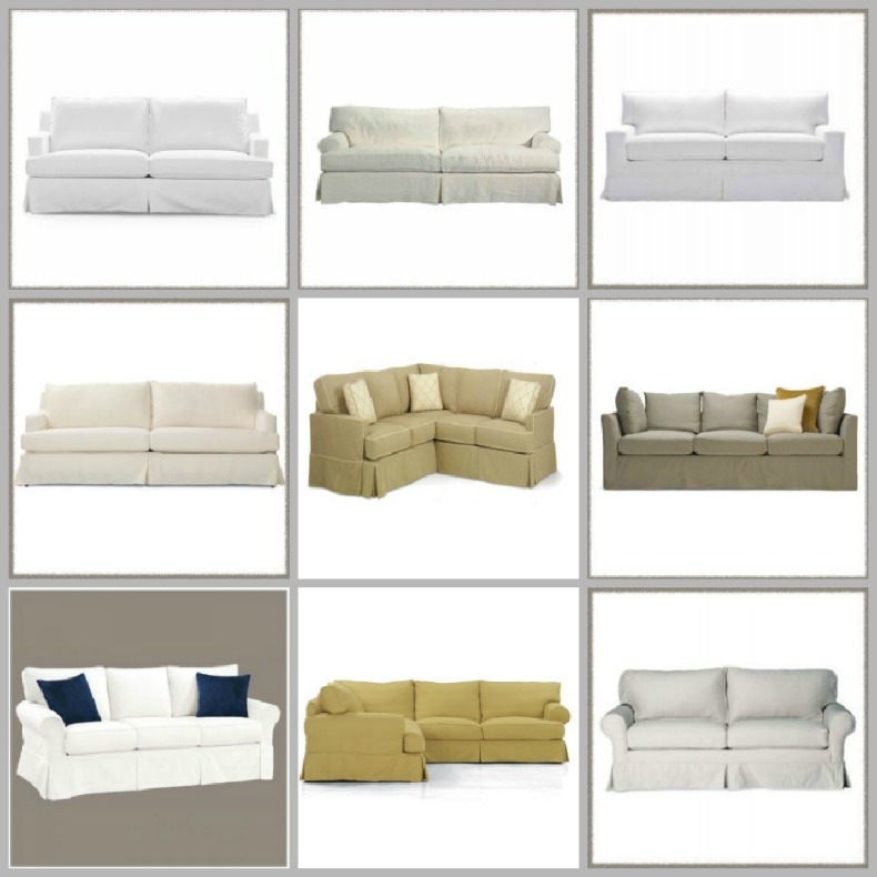 coastal chic sectional sofas