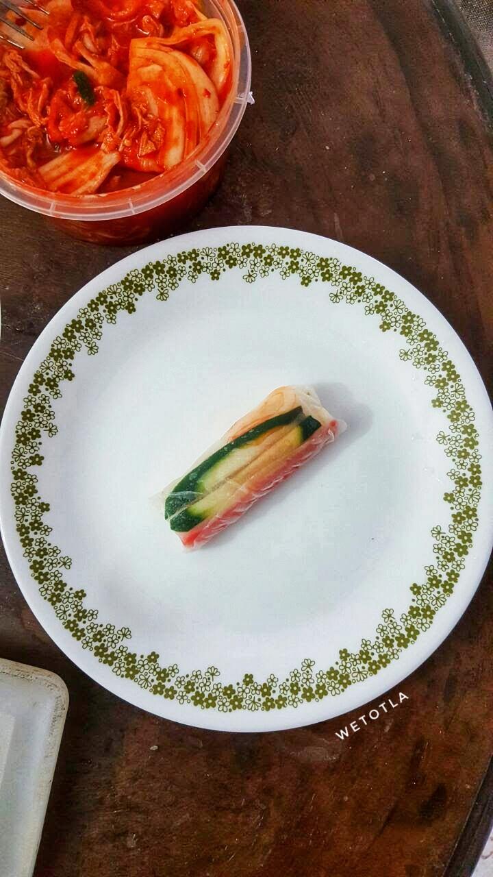 Resepi : Vietnamese roll.