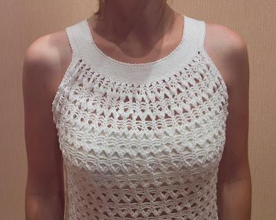 Модели платьев для девушек вязанные крючком фото 2011