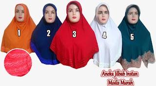 aneka jilbab instan modis murah