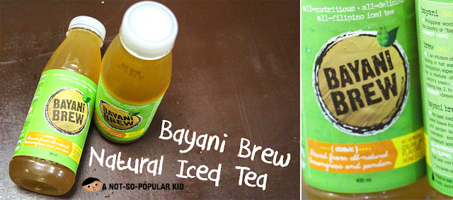 GK Enchanted Farm's Bayani Brew - all natural Iced Tea
