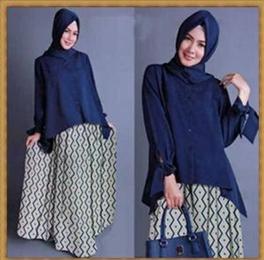 Model Baju Kantor Muslim Setelan Rok Anggun dan Murah