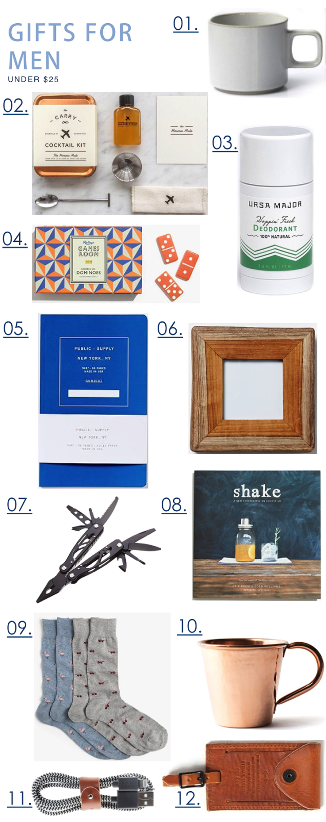 Boho Beach Bungalow Holiday Gift Guide For Men 2015