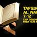 TAFSIR SURAT AL WAQI'AH 7-12: TIGA GOLONGAN MANUSIA PADA HARI KIAMAT