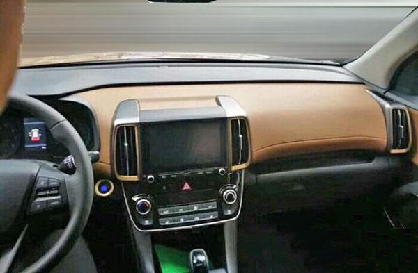 Burlappcar: 2018 Hyundai IX35 Interior