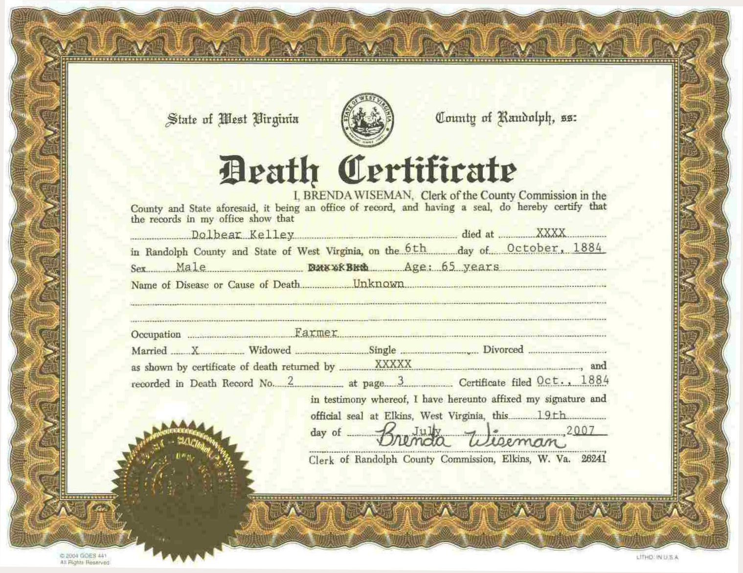 A grave interest the cost of dying traditional funeral for Baby death certificate template