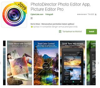 Aplikasi edit foto android terlengkap
