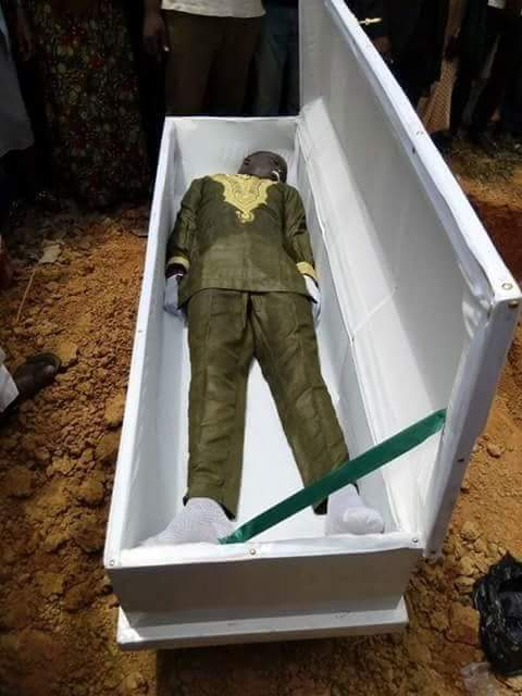 22-year-old only child allegedly tortured to death by SARS operatives laid to rest in Kaduna (photos)
