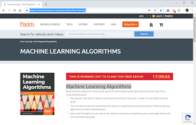 Free Ebook – Motorcar Learning Algorithms