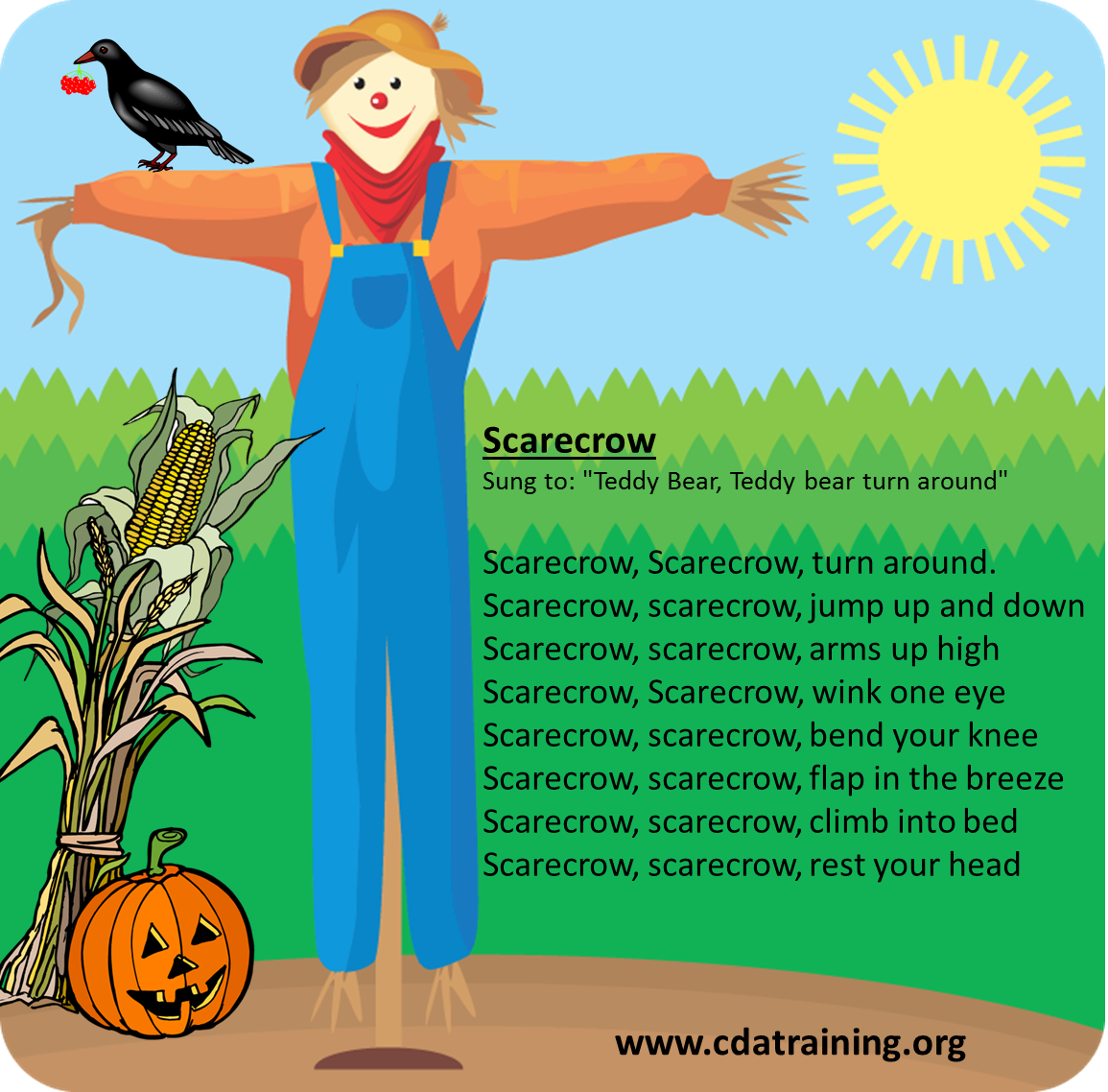 Child Care Basics Resource Blog Scarecrow Songs