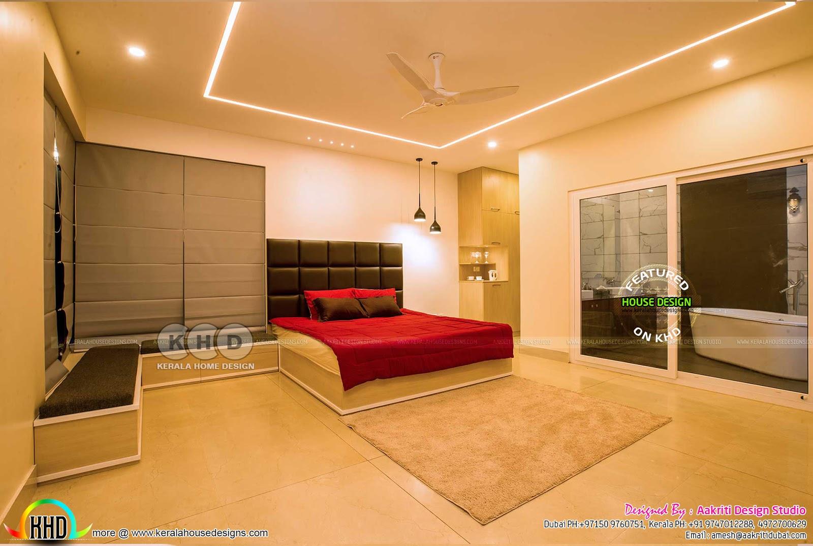 Finished Villa Interiors Designs