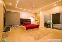 Finished Villa Interiors Design - Kerala Home And