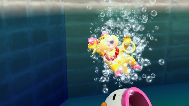Wendy O. Koopa drowning water swimming Super Smash Bros. For Wii U