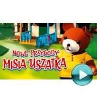 """Nowe Przygody Misia Uszatka - naciśnij play, aby otworzyć stronę z odcinkami bajki """"Nowe Przygody Misia Uszatka"""" (odcinki online za darmo)"""