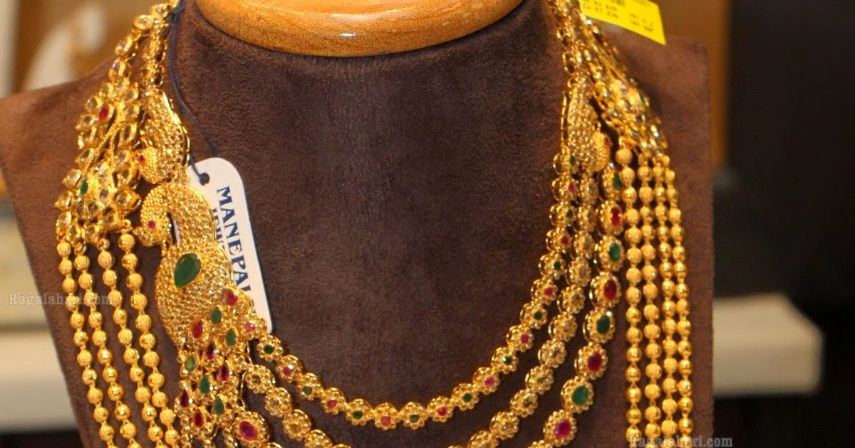 Designer Uncut Diamond Necklace And Chandra Haram