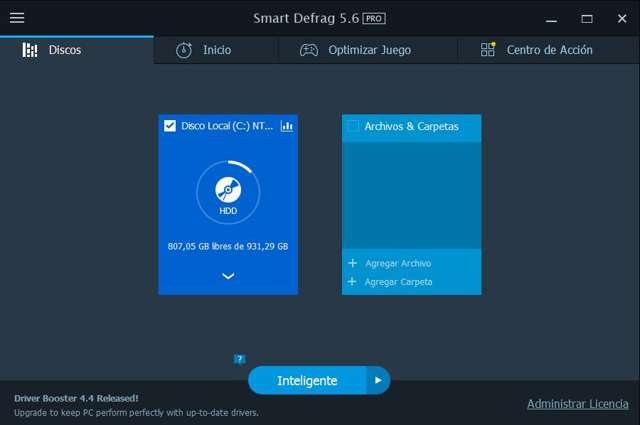 IObit Smart Defrag Pro 5.6 Full Español