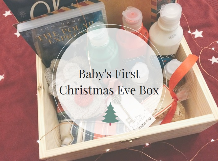 what to put in christmas eve box for baby