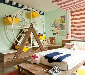 Dormitorio infantil divertido