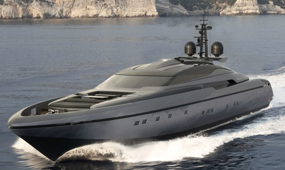 poweryacht mag global informative motorboat page  project  baglietto 44m open