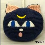 patron gratis gato Sailor Moon amigurumi, free pattern amigurumi cat Sailor Moon