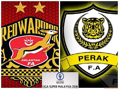 Live Streaming Kelantan vs Perak Liga Super 24 Februari 2018