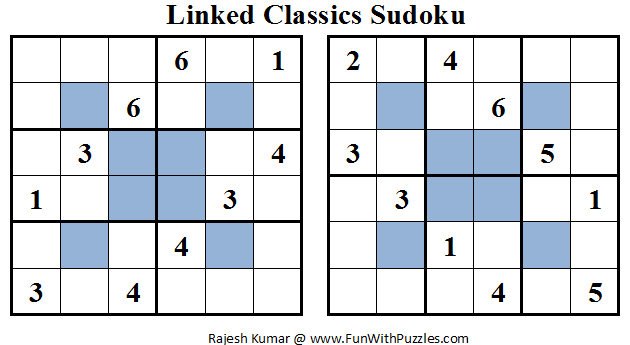 Linked Classics Sudoku (Mini Sudoku Series #16)