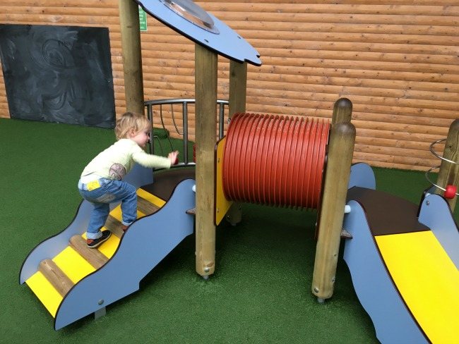 the-worlds-largest-coffee-morning-with-macmillan-and-friends-toddler-at-Parc-play-Cardiff