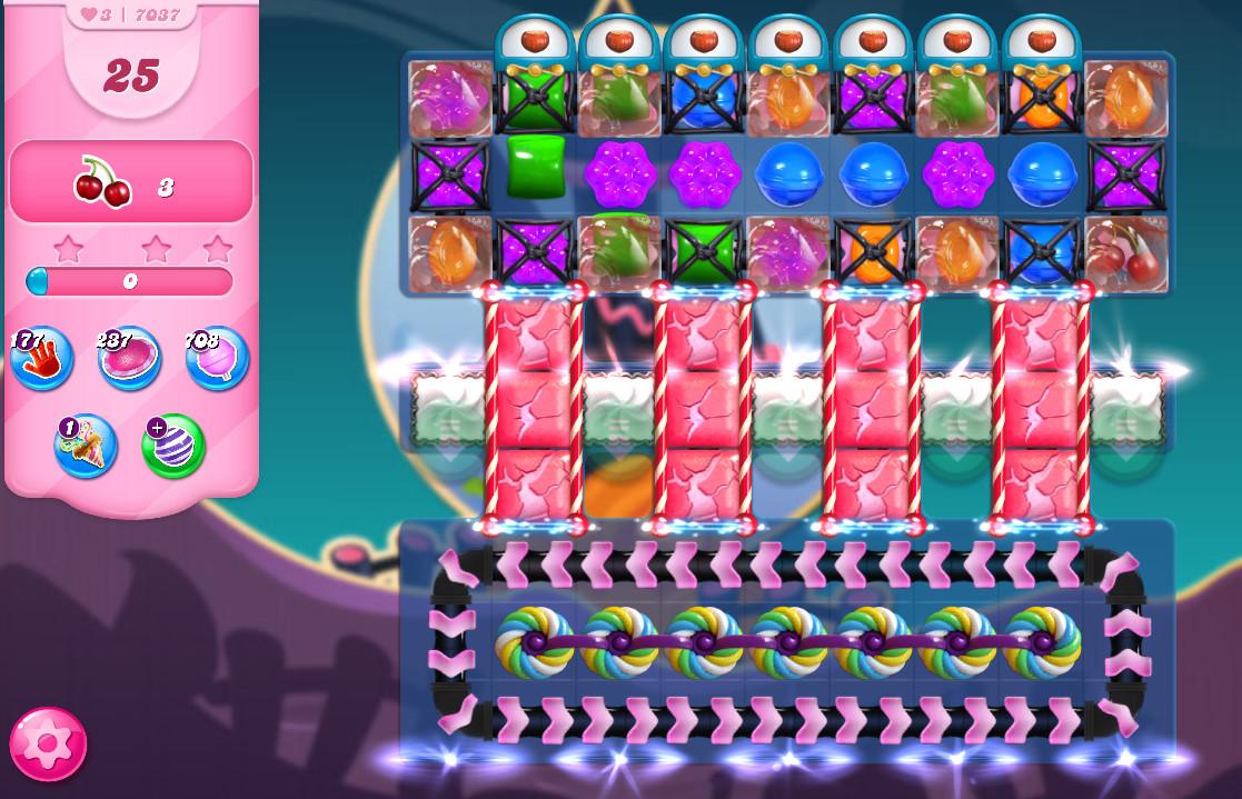 Candy Crush Saga level 7037
