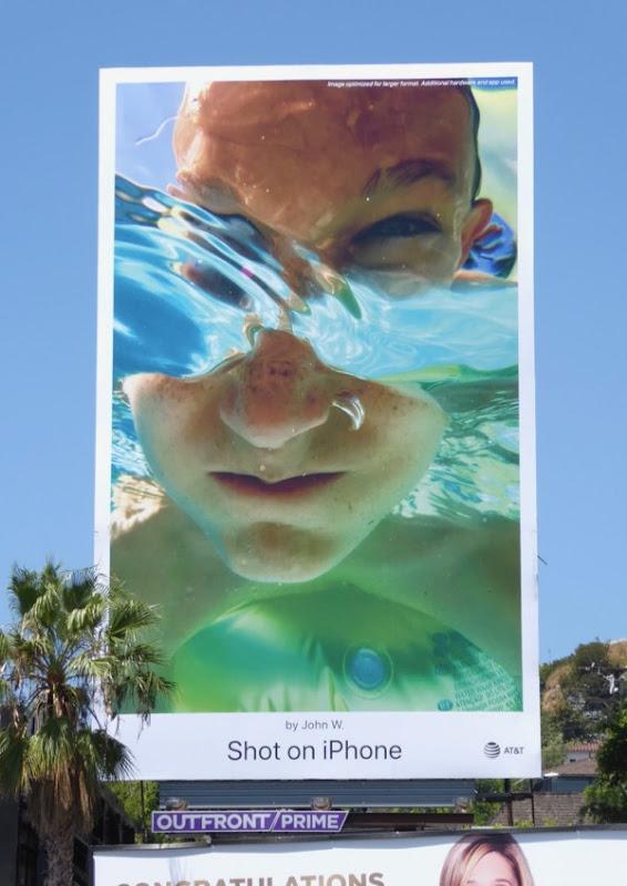 Shot on iPhone John W billboard