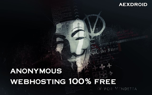 Completely Free Anonymous Webhosting - Aexdroid.com