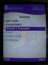 Menu Banking