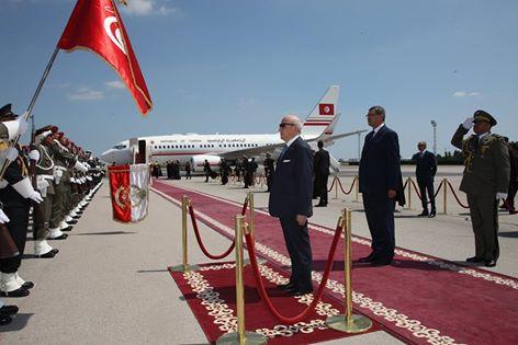 Le président de la République Béji Caïd Essebsi a entamé, mardi 17 mai une visite officielle de trois jours au Qatar