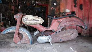 Jual Bahan Motor Tua DKW Harga Slepetsial